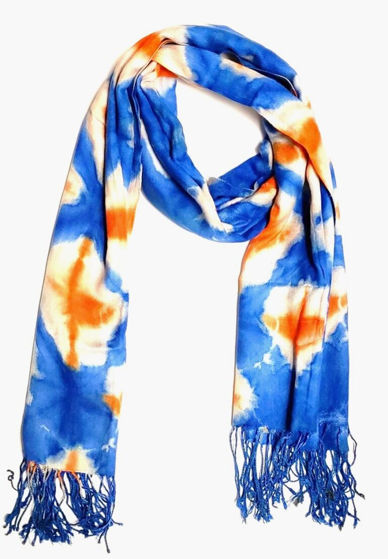 Blue, orange, cream 2